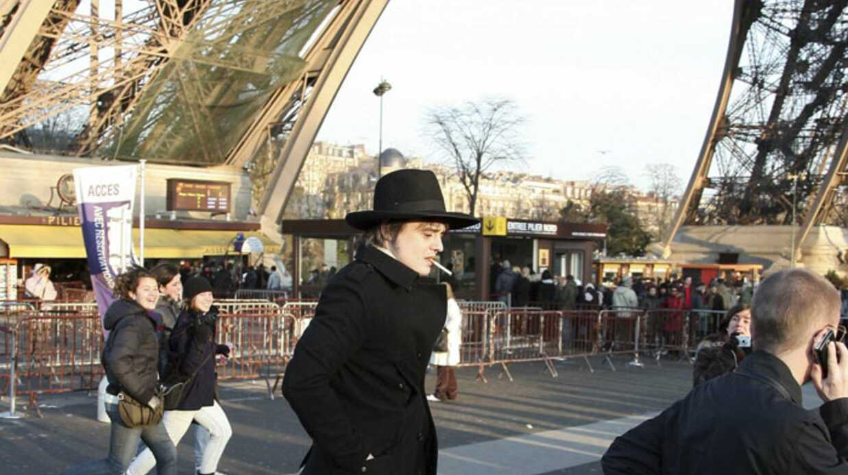 Pete Doherty puise son inspi­ra­tion à Paris