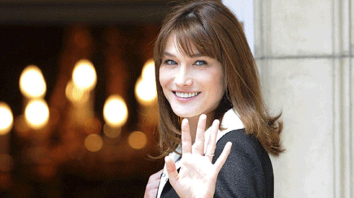 Carla Bruni: à l'aide des jeunes du 93