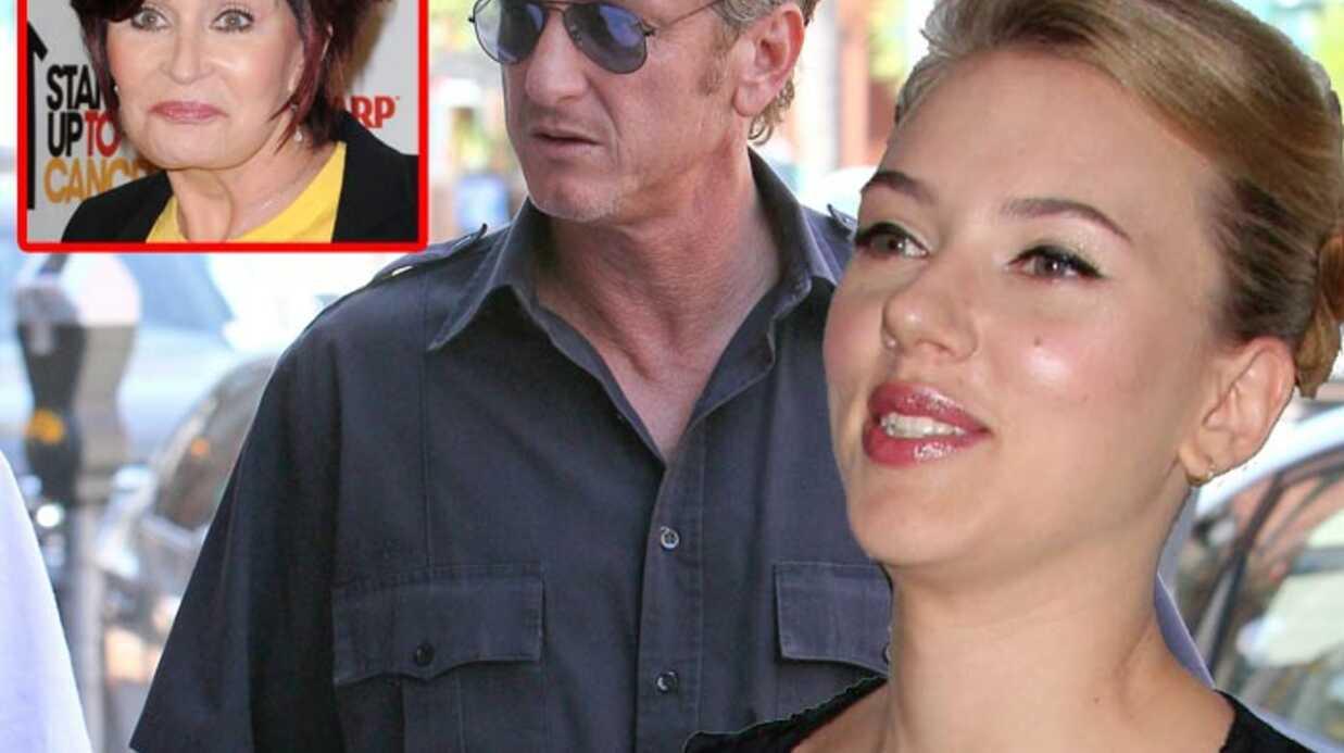 Scarlett Johansson et Sean Penn dérangés par Sharon Osbourne