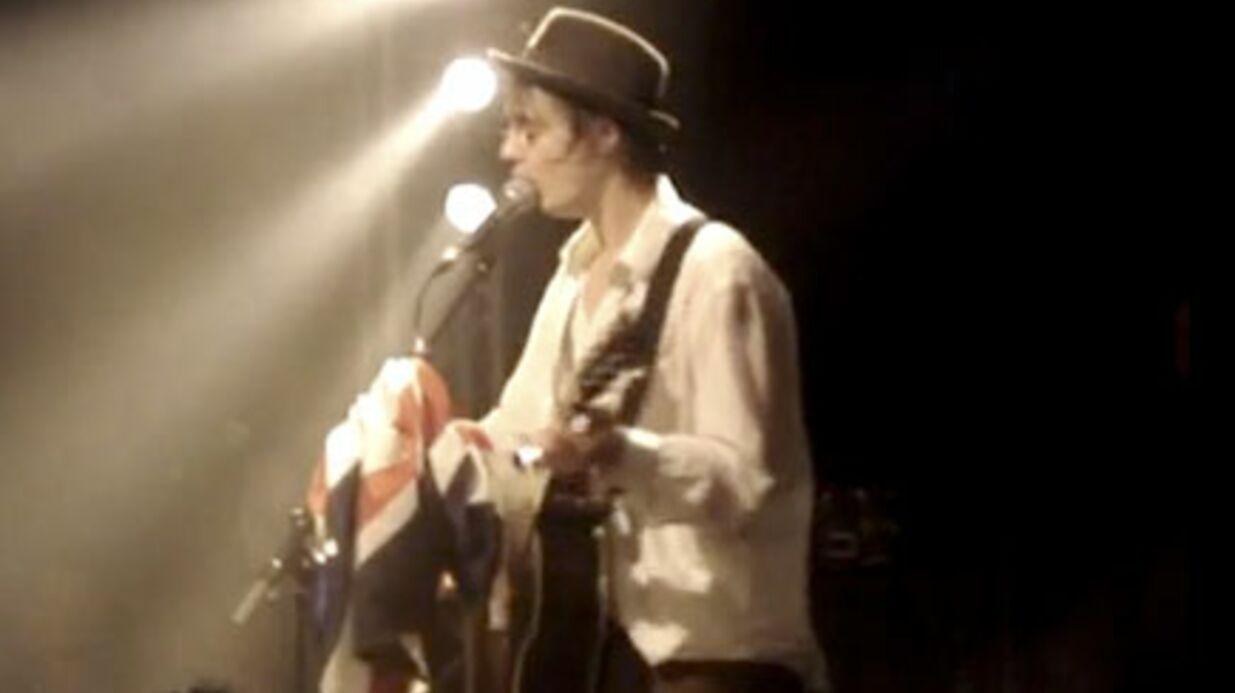 VIDEO Pete Doherty à la Flèche d'Or