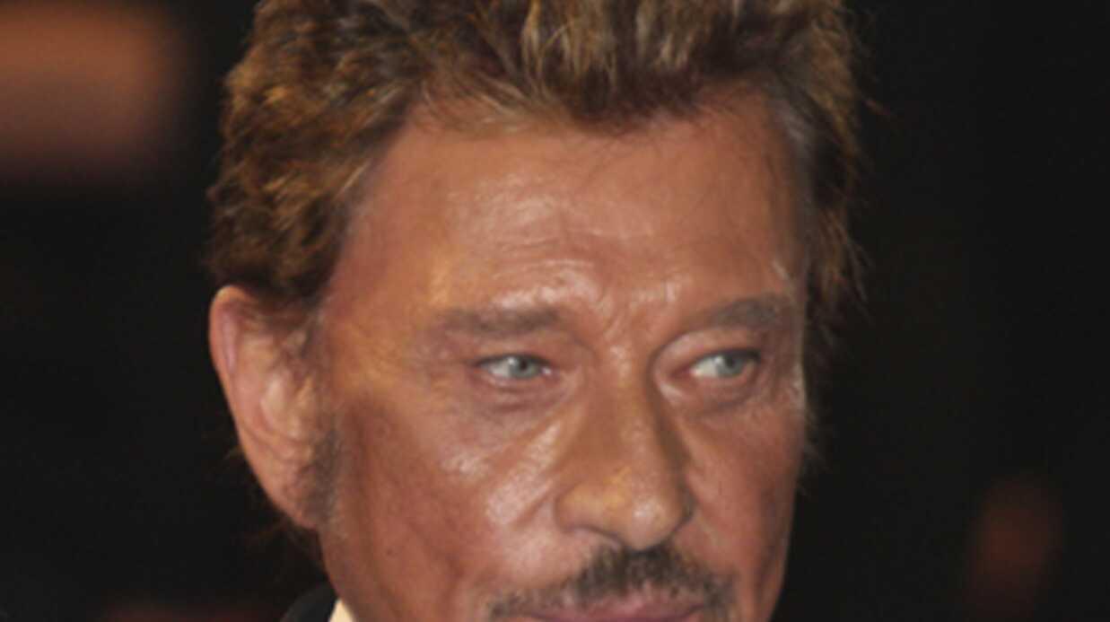 Johnny Hallyday: menacé par une arme à feu