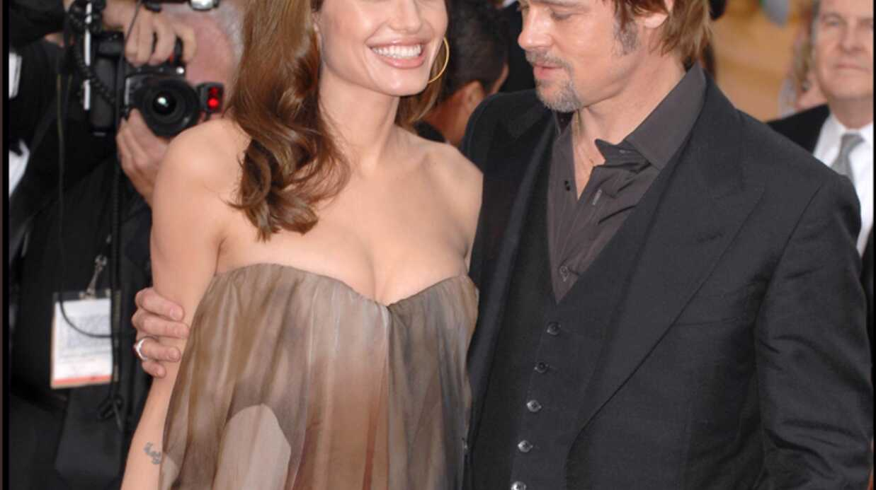 Angelina Jolie & Brad Pitt Un mariage et une fille?