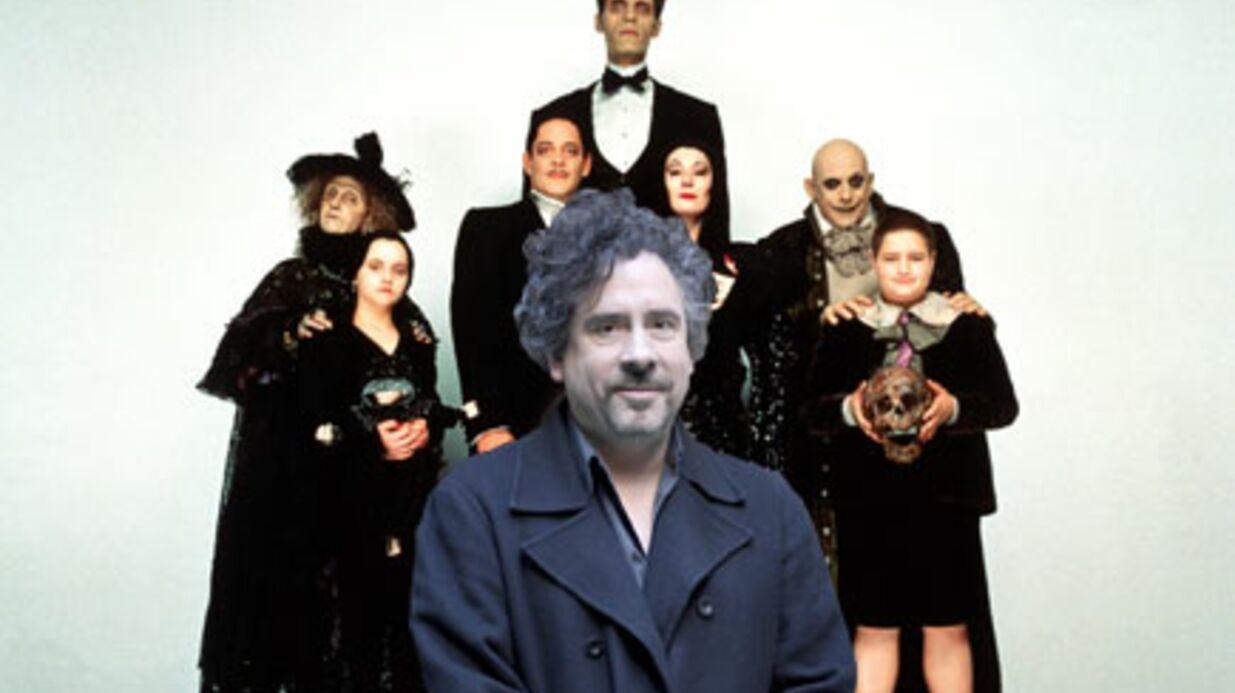 Tim Burton réalisera La famille Addams en 3D