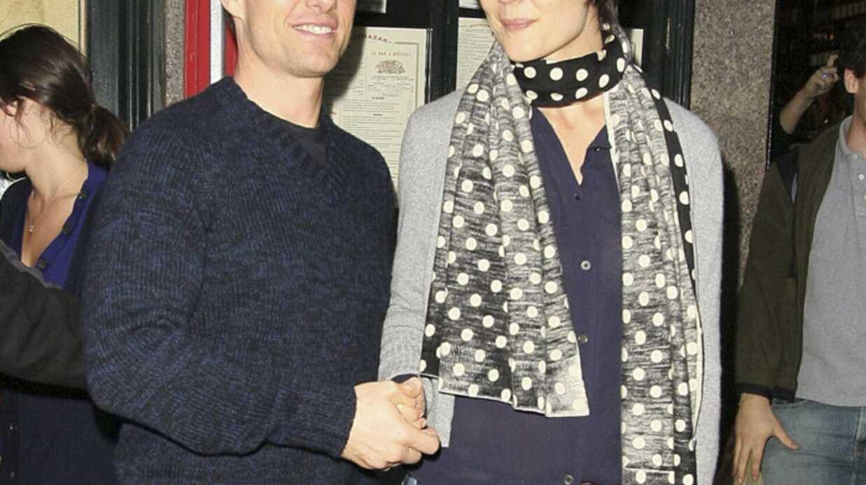 Katie Holmes a retrouvé Tom Cruise à Los Angeles