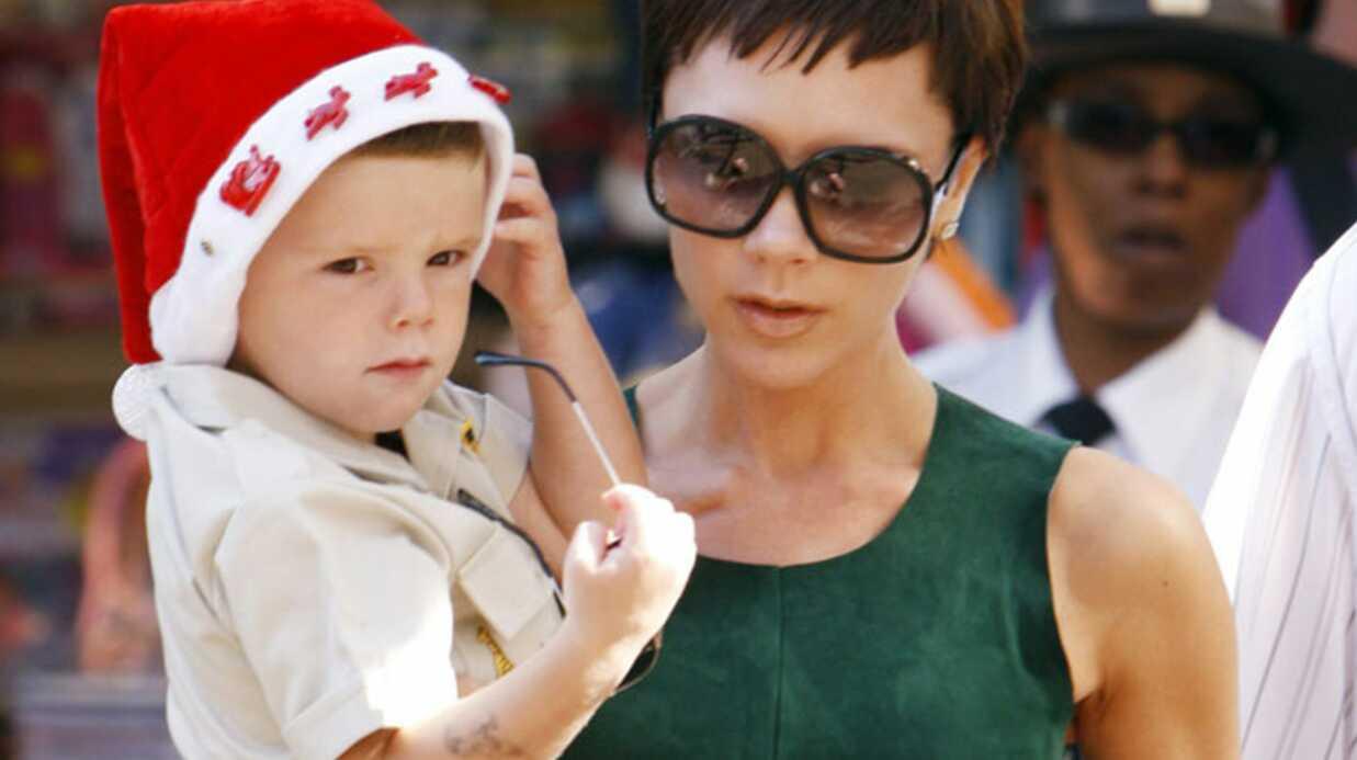 Victoria Beckham et ses enfants suivent David à Milan
