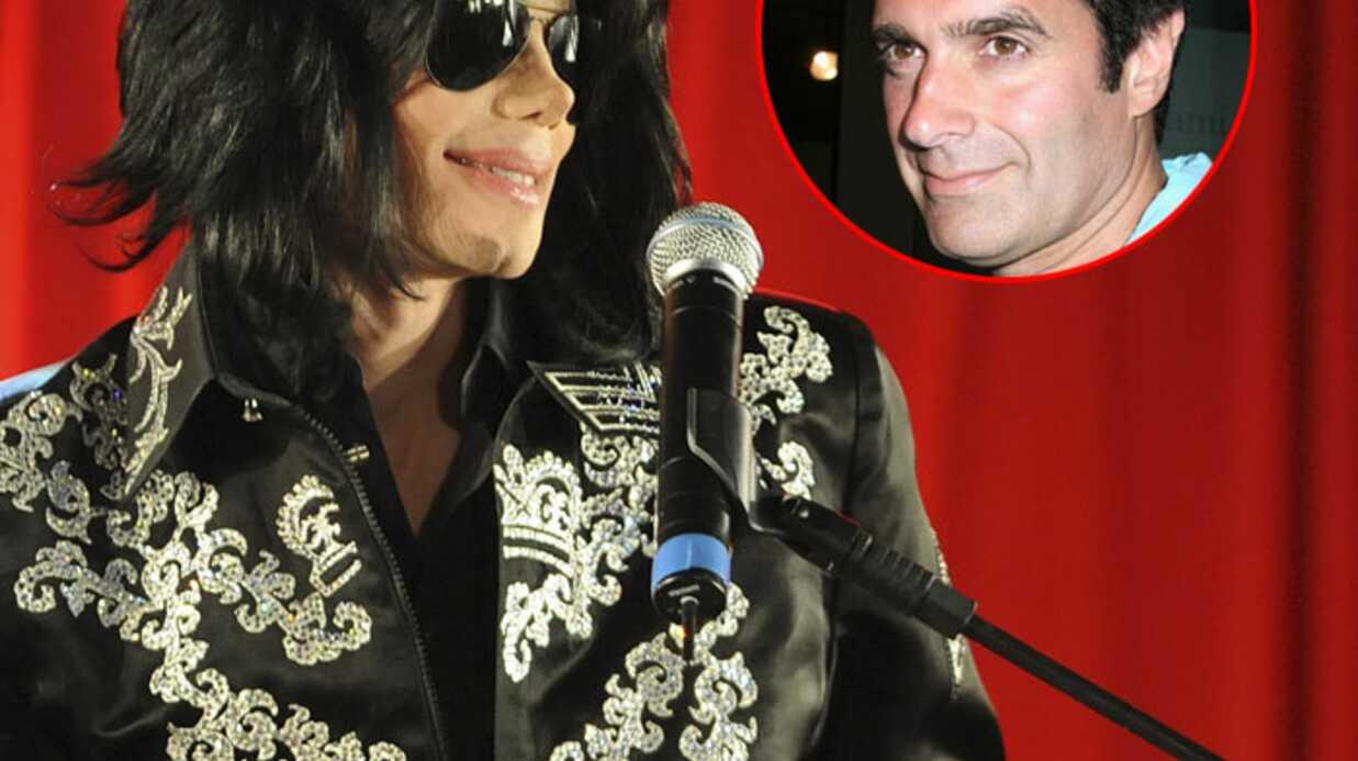 Michael Jackson veut collaborer avec David Copperfield