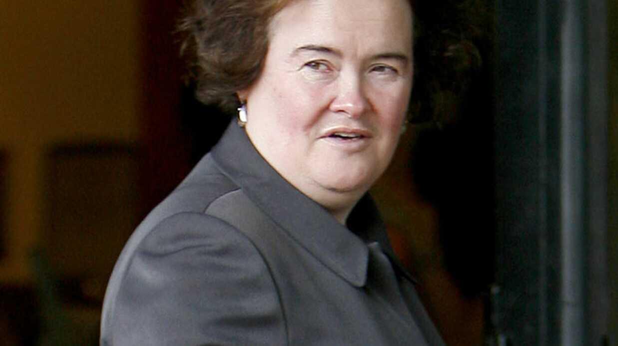Susan Boyle: hospitalisée d'urgence à Londres