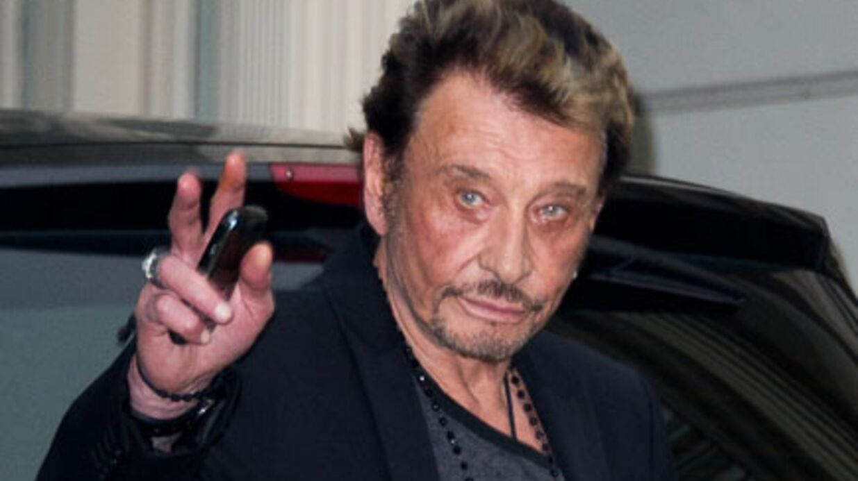 Johnny Hally­day parle de la mort à Gala