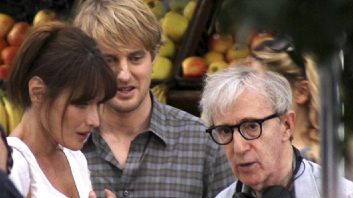 Carla Bruni-Sarkozy: Woody Allen est fier d'elle