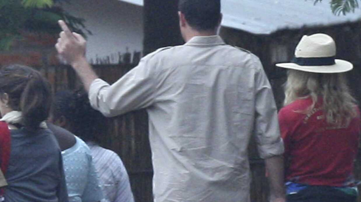 PHOTO Madonna: après-midi tendresse avec Mercy James