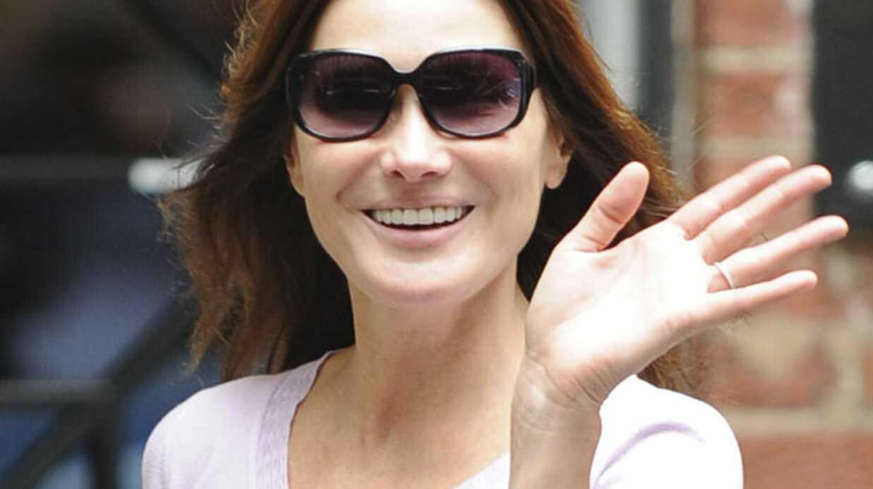 Carla Bruni-Sarkozy: les Français la trouvent à la hauteur