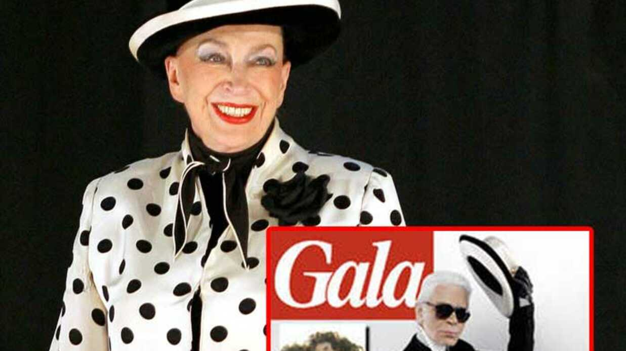 Karl Lagerfeld a relooké Geneviève de Fontenay