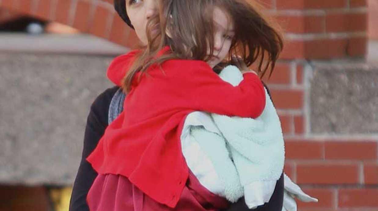 Katie Holmes est OK pour que Suri porte des talons à 3 ans