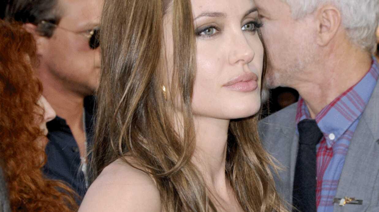 Angelina Jolie est stressée selon une graphologue
