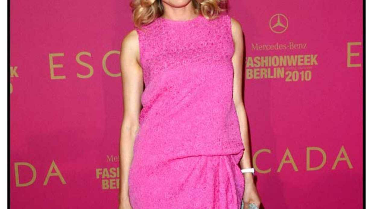 LOOK Diane Kruger voit la vie en rose bonbon