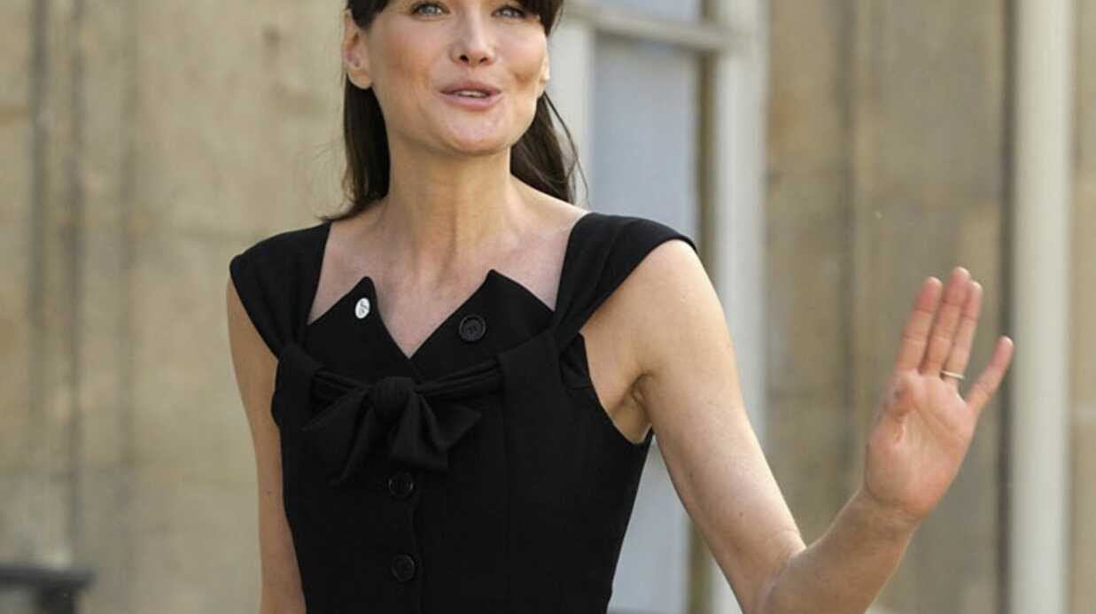 Carla Bruni-Sarkozy ne confirme pas sa grossesse mais…