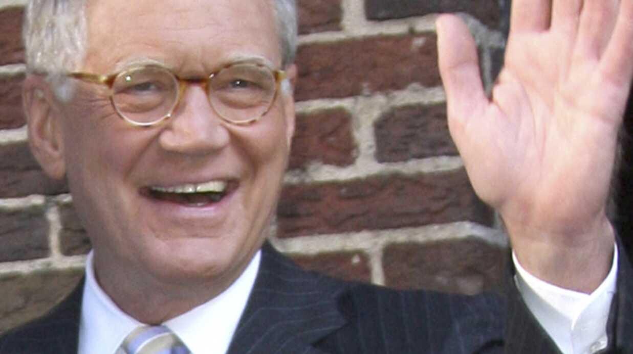 David Letterman a  avoué ses infidélités en direct