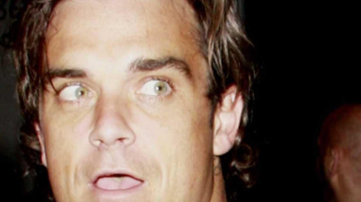 Robbie Williams ne sort plus de chez lui