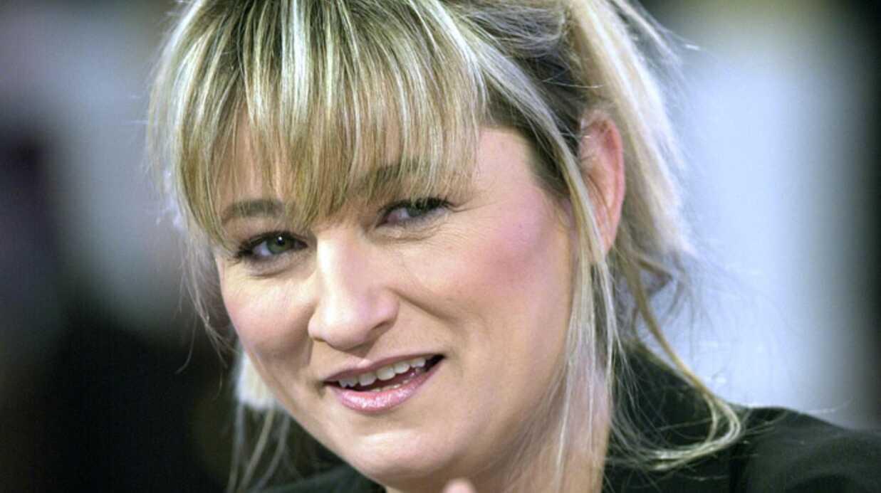 Christine Bravo avec Nikos Aliagas dans Petites stars sur TF1