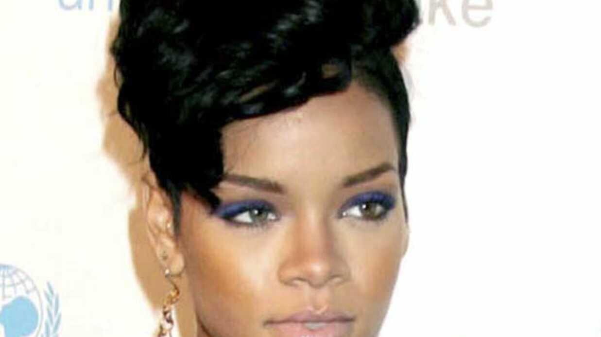 La photo choc du visage de Rihanna après l'agression