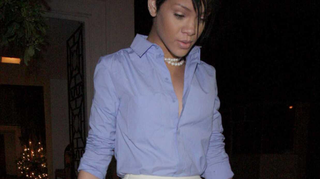 Photo de Rihanna: la police enquête pour trouver la fuite