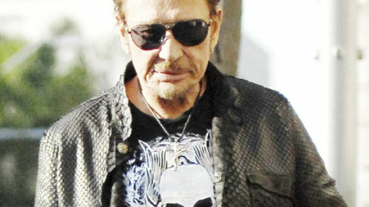 Johnny Hallyday: à nouveau hospitalisé à Los Angeles?