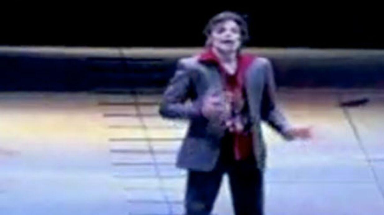 Michael Jackson: un film tiré des répétitions de sa tournée