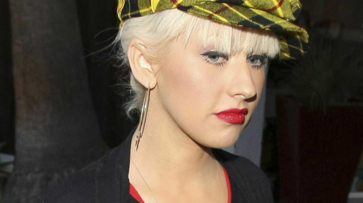 Christina Aguilera touchée par la crise financière