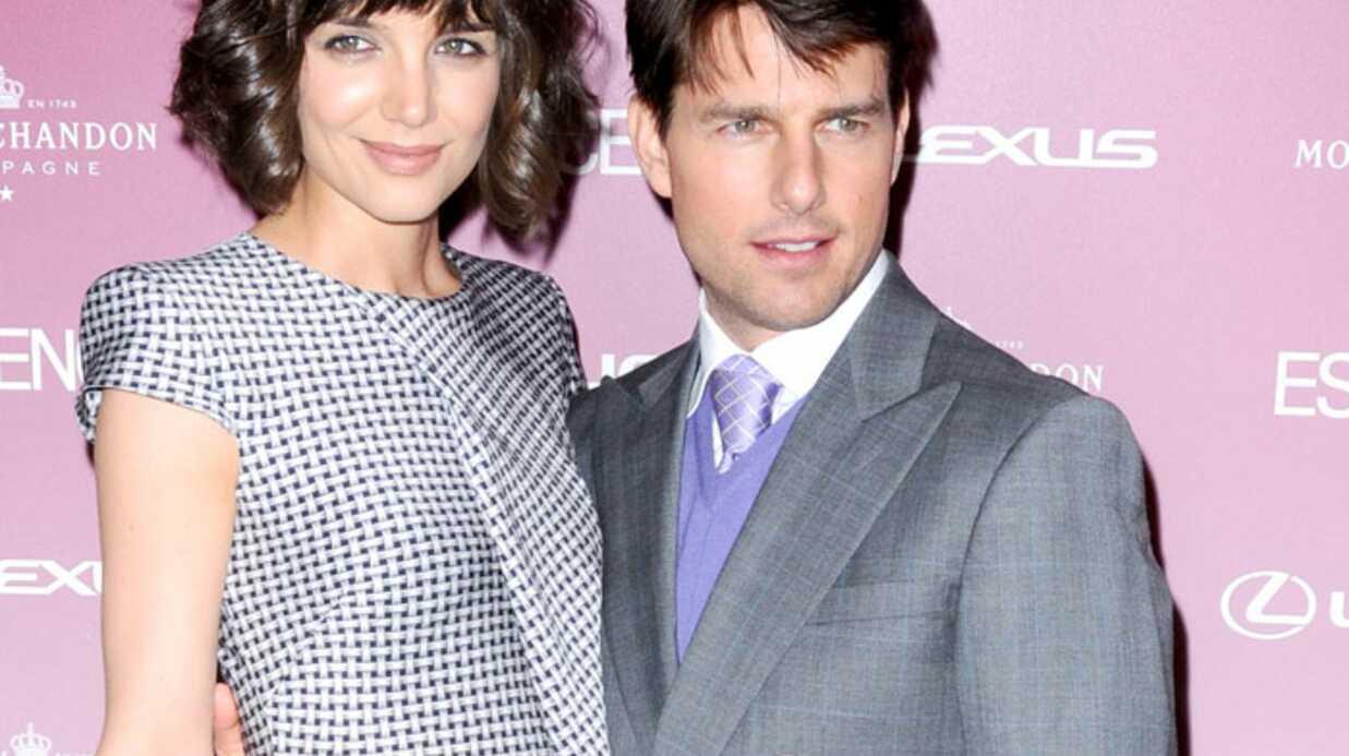 Tom Cruise et Katie Holmes offrent des cours de français à leur fille