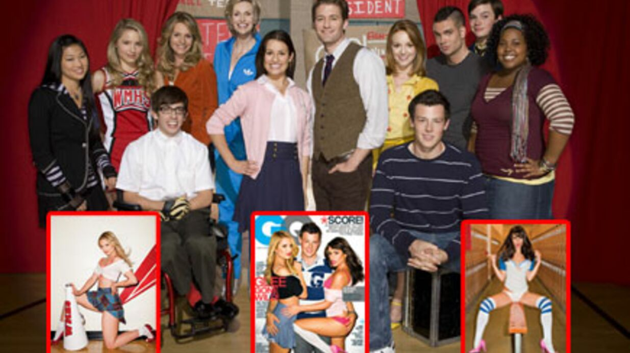 Glee : des photos sexy font scan­dale aux Etats-Unis