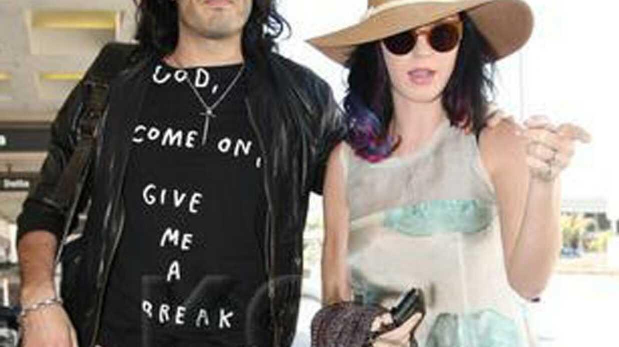 Katy Perry et Russell Brand sont arrivés en Inde