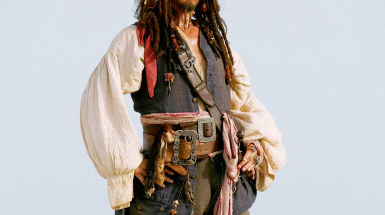 Johnny Depp refuserait de jouer Jack Sparrow dans Pirates des Caraïbes 4