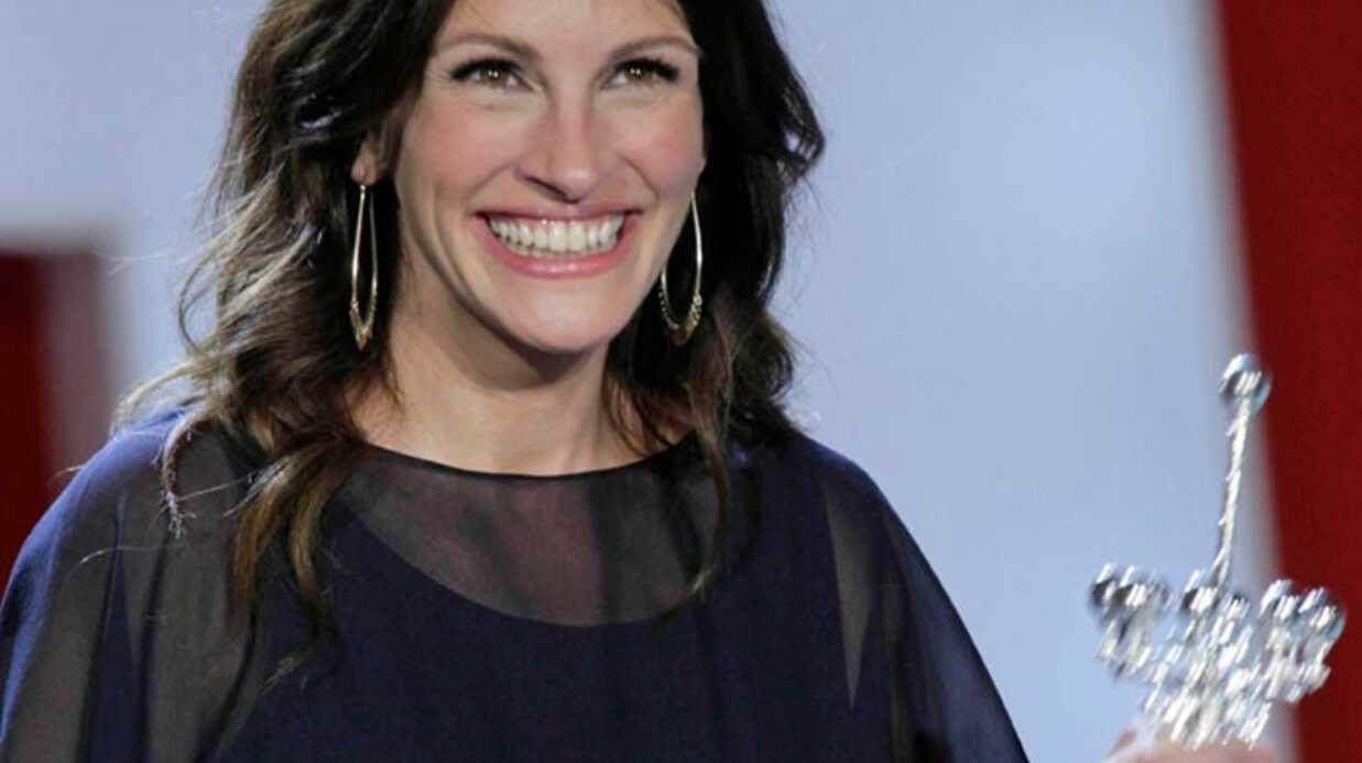 Julia Roberts a reçu le prix Donostia