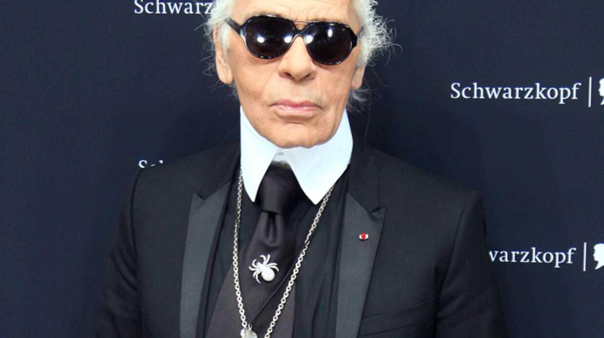 Karl Lagerfeld planche sur son nouveau parfum Paper Passion