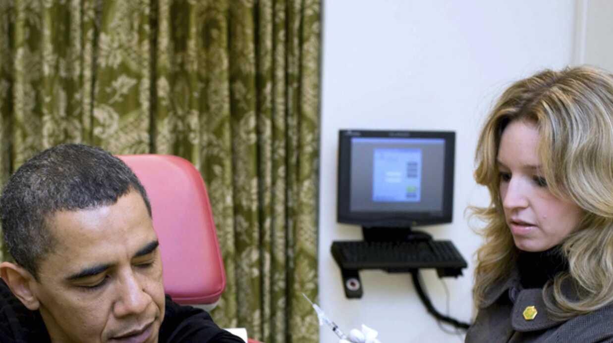 Barack Obama: vacciné contre la grippe H1N1