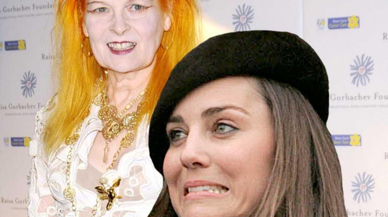 Kate Middleton vivement critiquée par Vivienne Westwood