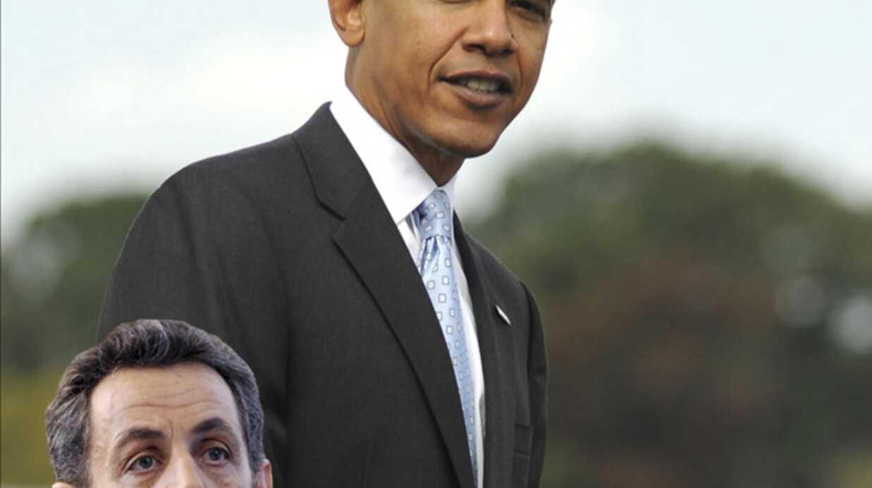 Nicolas Sarkozy: Obama est le nouveau président Bling Bling