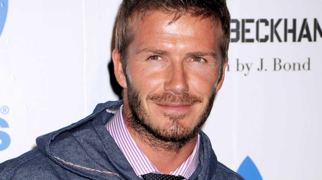 David Beckham agressé par une journaliste italienne