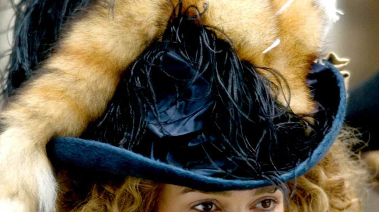 Keira Knightley a souffert à cause de sa perruque sur le tournage de son dernier film