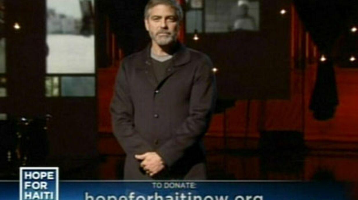 George Clooney distingué pour son engagement humanitaire