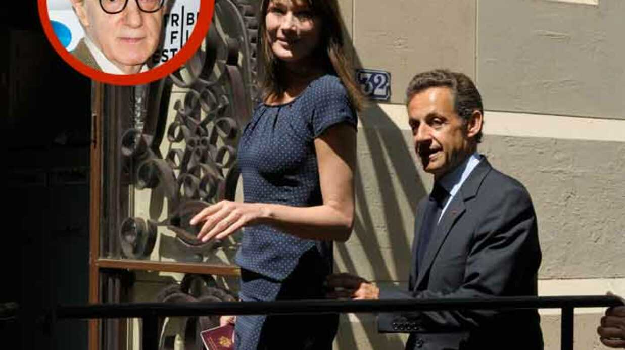Woody Allen a rencontré Nicolas Sarkozy et Carla Bruni