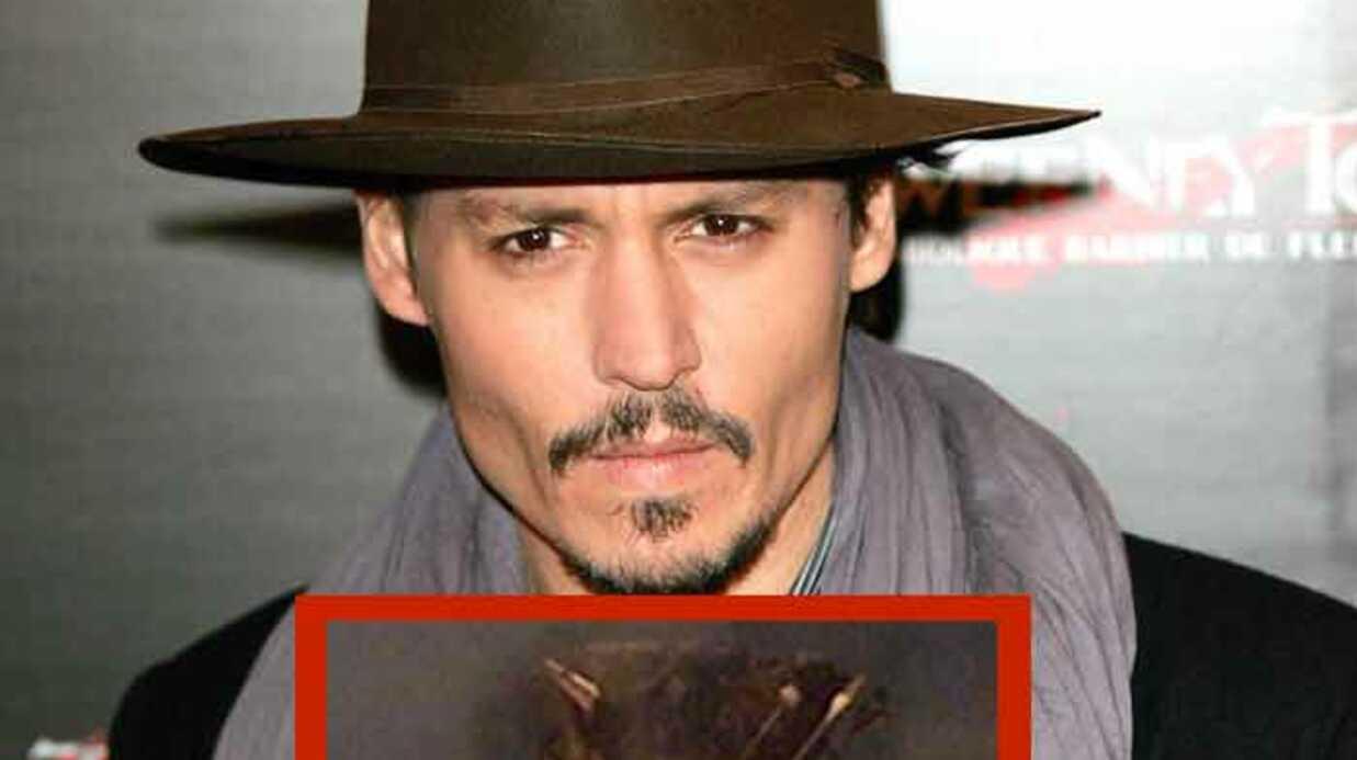 Johnny Depp: premières photos d'Alice au pays des merveilles