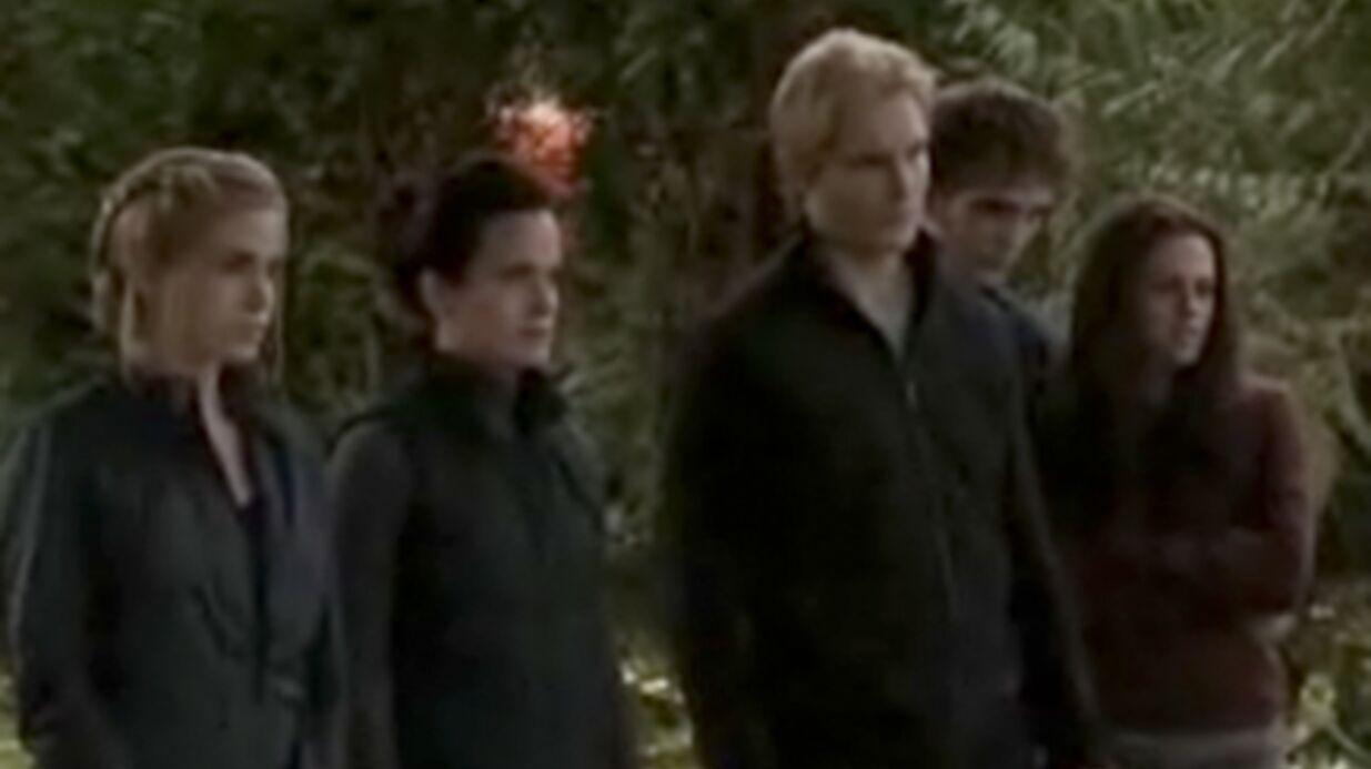 Sept minutes sur le tournage de Twilight 3: Hesitation