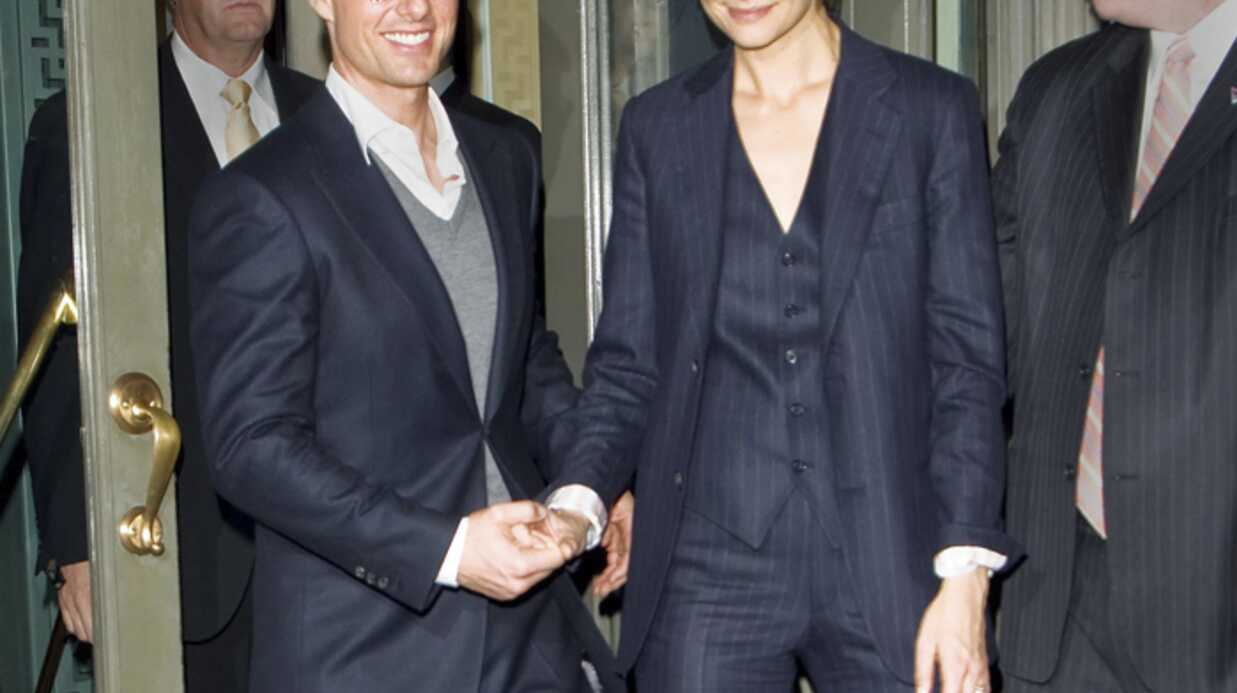 Photos de Tom Cruise et Katie Holmes à New York