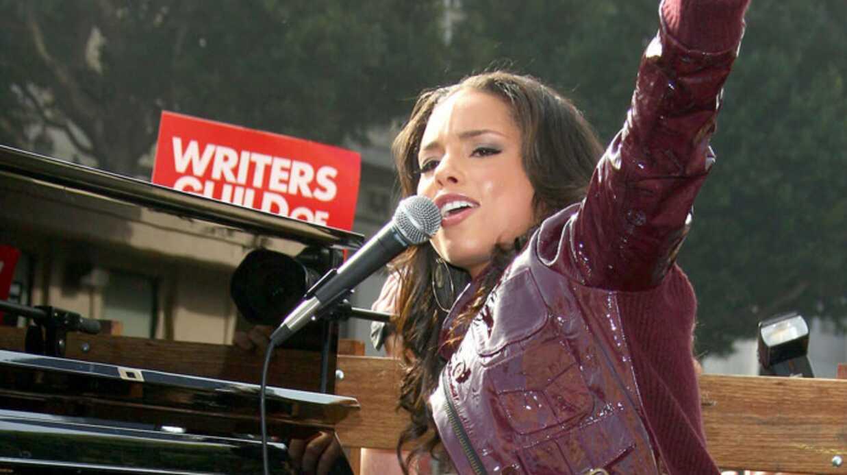 Alicia Keys Au boulot la feignasse!