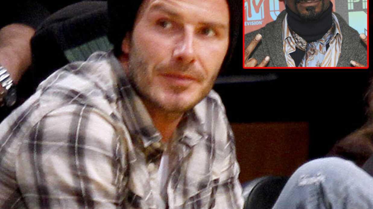 David Beckham se met au rap avec Snoop Dogg