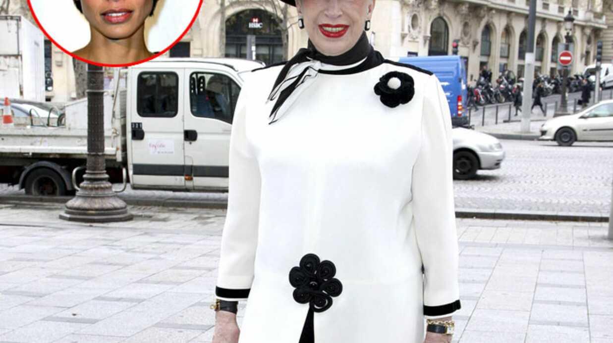 Geneviève de Fontenay soutenue par Sonia Rolland