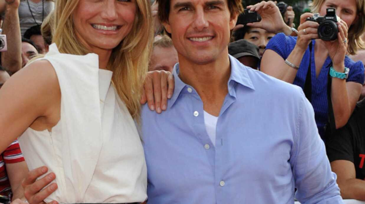 Tom Cruise et Came­ron Diaz sur le Tour de France