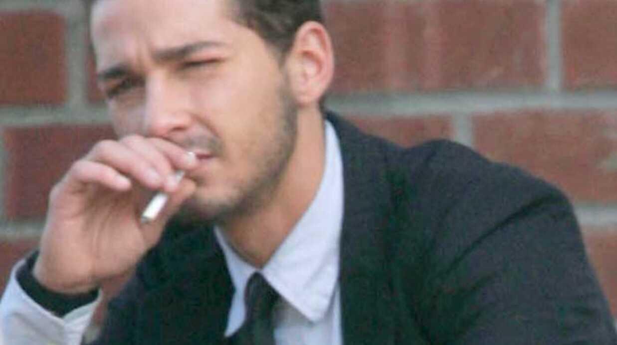 Shia LaBeouf Un coup fumeux