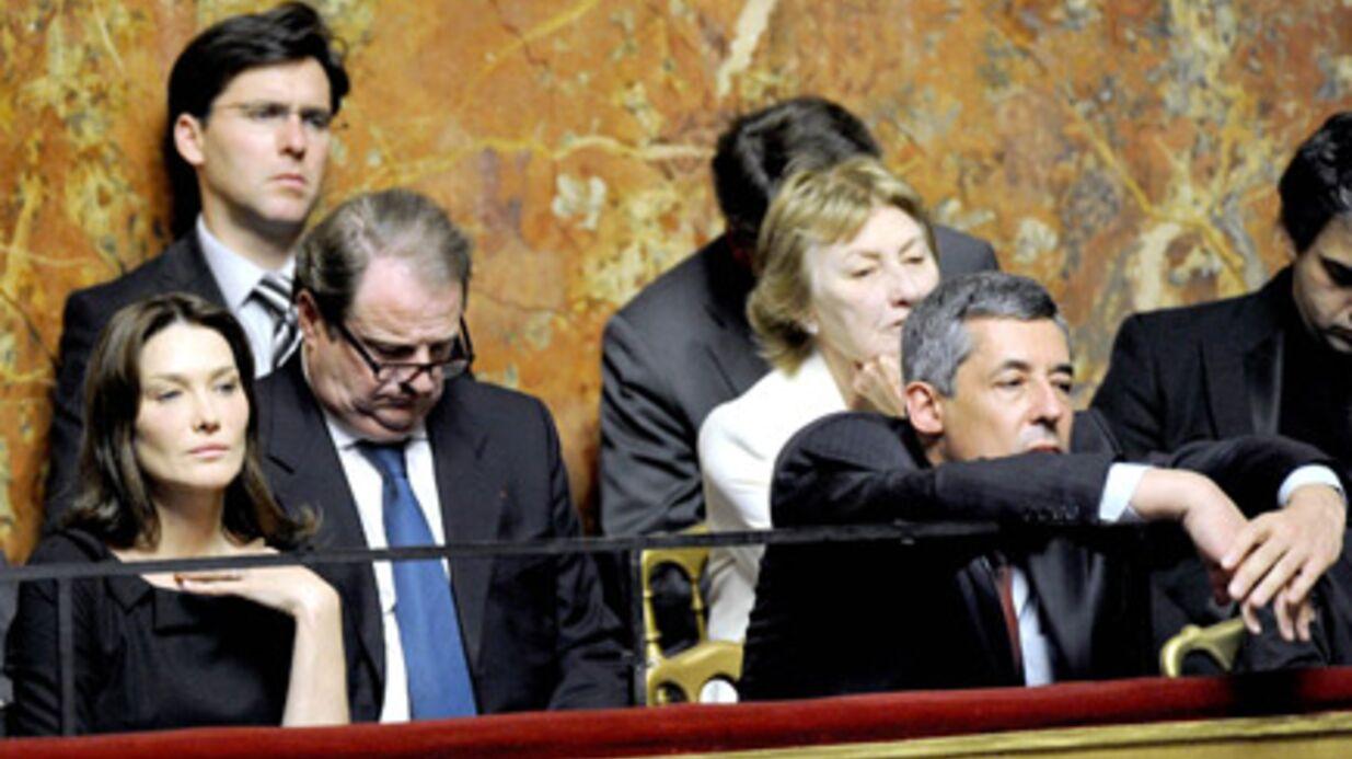 Versailles: Nicolas Sarkozy endort sa belle-mère